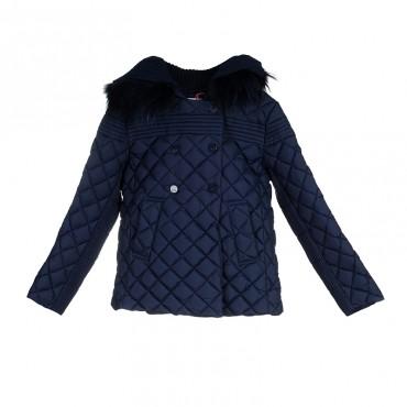 Puchowa kurtka dla dziewczynki Pinko Up 000496