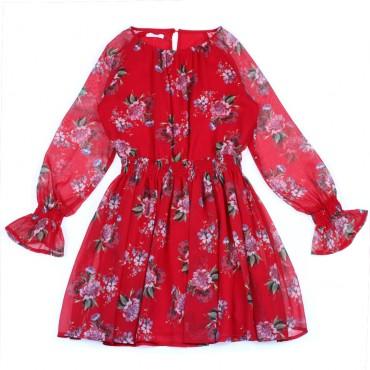 Suknia kwiatowy wzór Liu Jo 002446 A