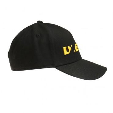 Czarna dziecięca czapka z daszkiem Diesel 002458