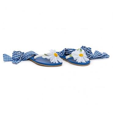 Dziecięce buty wiązane w kostce Monnalisa 002483