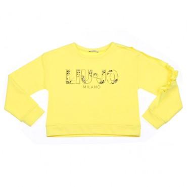 Żółta bluza Liu Jo 002488 przód