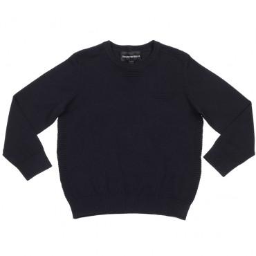 Sweter chłopięcy EMPORIO ARMANI, euroyoung.pl 002493