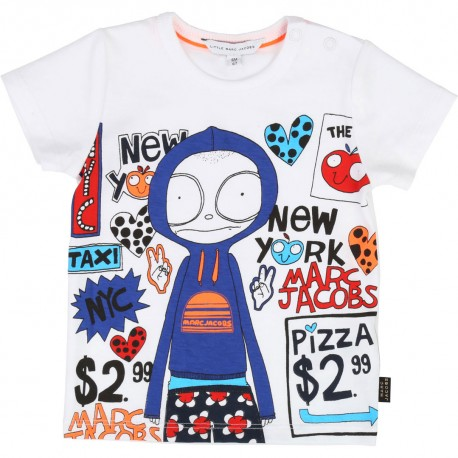 Koszulka chłopięca Little Marc Jacobs, sklep online 002502