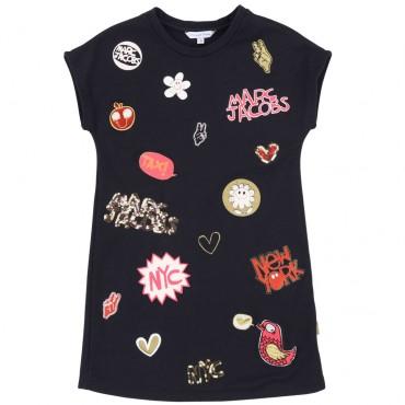 Sukienka dla dziewczynki Little Marc Jacobs 002507