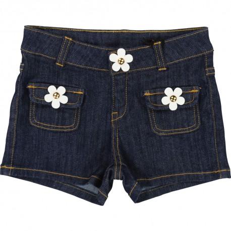 Szorty z kwiatami Little Marc Jacobs 002511 przód