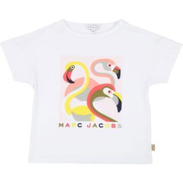 Koszulka dziewczęca Little Marc Jacobs, sklep online 002514