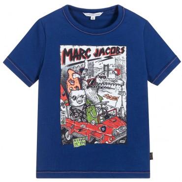 Koszulka chłopięca Little Marc Jacobs, sklep online 002519