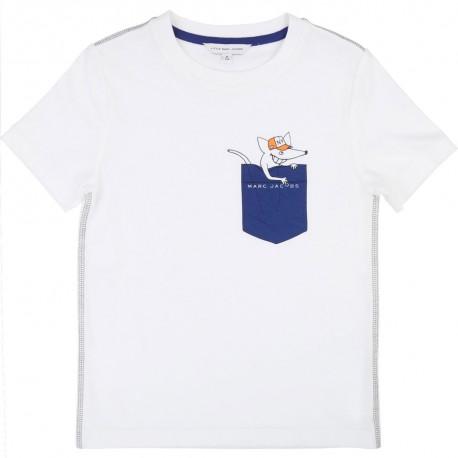 Koszulka chłopięca Little Marc Jacobs, sklep online 002525