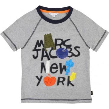 Koszulka chłopięca Little Marc Jacobs, sklep online 002526