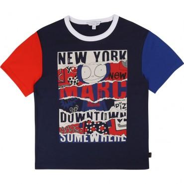 Koszulka chłopięca Little Marc Jacobs, sklep online 002527