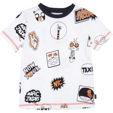 Koszulka chłopięca Little Marc Jacobs, sklep online 002528