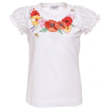 Koszulka dziewczęca MONNALISA, sklep online 002537
