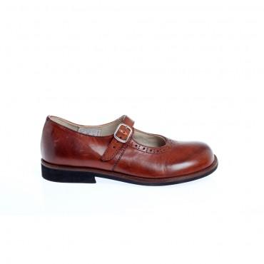Brązowe pantofle GALLUCCI 1810 A