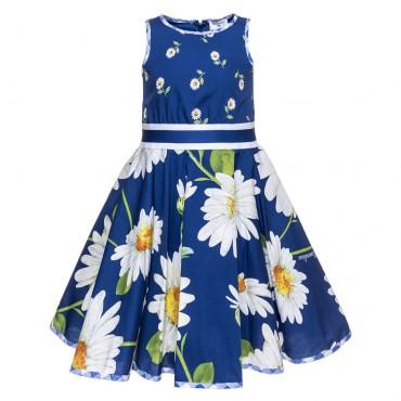Wizytowa sukienka dla dziewczynki Monnalisa 002547