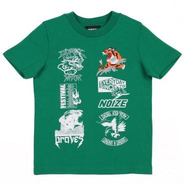Odzież niemowlęca. Koszulka chłopięca DIESEL, sklep online 002565