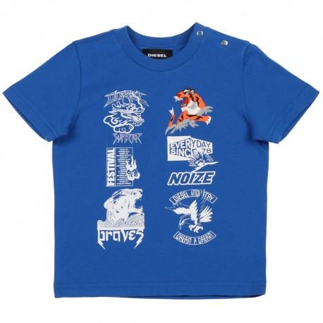 2a156c27dd6e1 Oryginalne ubranka dla niemowląt. Koszulka chłopięca DIESEL