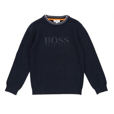 Sweter chłopięcy HUGO BOSS, euroyoung 002572