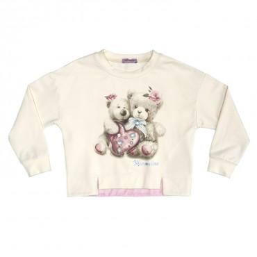 Bluza dla dziecka z nadrukiem Monnalisa 196603S1