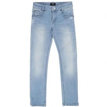 Jasnoniebieskie jeansy chłopięce Hugo Boss 002576