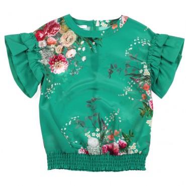 Bluzka dziewczęca Liu Jo 002582 - sklep online - moda dziecięca.