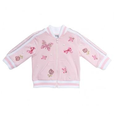 Ekskluzywna bluza niemowlęca Monnalisa, 002589, moda niemowlęca.