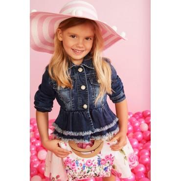 Ekskluzywna kurtka dziewczęca MONNALISA 002592, euroyoung, odzież dla dzieci.