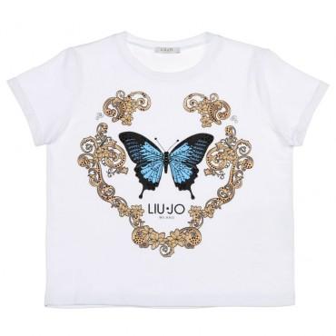 Ekskluzywne ubrania dla dzieci Liu Jo, koszulka 002603
