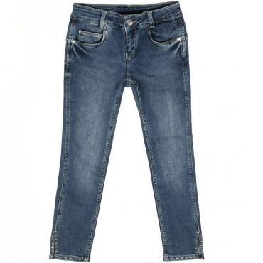 Jeansy z dżetami Liu Jo 002608 A
