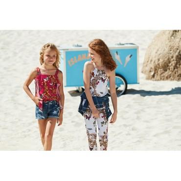 Ekskluzywne ubrania dla dzieci Liu Jo, szorty dziewczęce 002604
