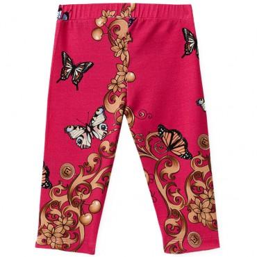 Markowe ubrania dla dzieci, legginsy Liu Jo 002612