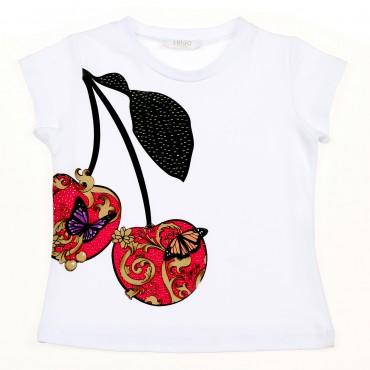 Ekskluzywne ubrania dla dzieci, koszulka Liu Jo 002613
