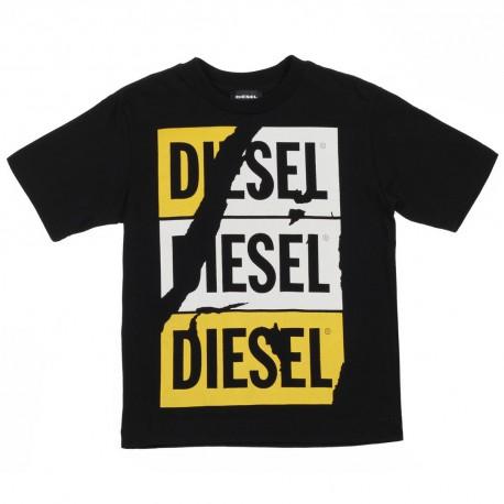 Oryginalne ubrania chłopięce Diesel, koszulka 002621