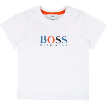 Koszulka chłopięca, ekskluzywne ubranka HUGO BOSS 002627