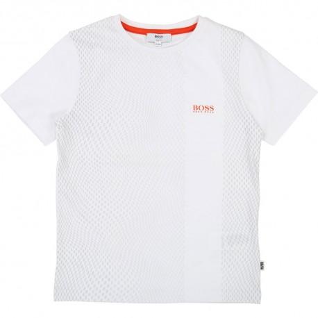 Koszulka chłopięca, ekskluzywne ubrania HUGO BOSS 002632