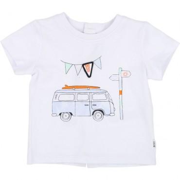 Koszulka dla niemowlaka Hugo Boss 002639