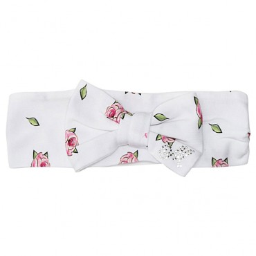 Ekskluzywne ubranka dla niemowląt. Opaska Monnalisa 002645.
