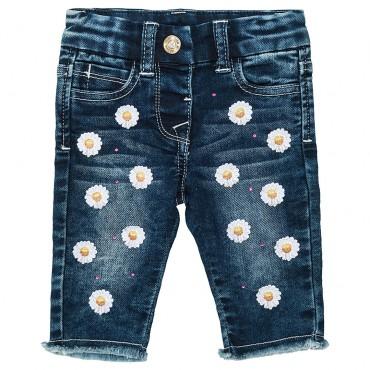 Ekskluzywne ubranka dla niemowląt. Spodnie niemowlęce Monnalisa 002649.