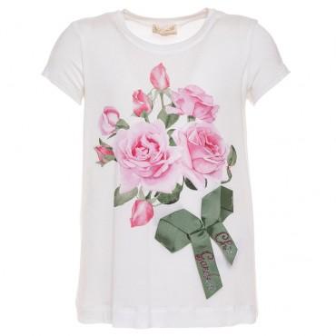 Ekskluzywne ubranka dla dzieci, koszulka Monnalisa 002650.