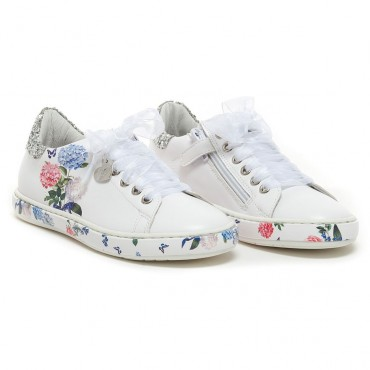 Ekskluzywne obuwie dla dzieci, buty dziewczęce Monnalisa 002655.