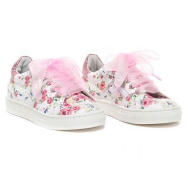 Sneakersy z nadrukiem dla dziecka Monnalisa 002659