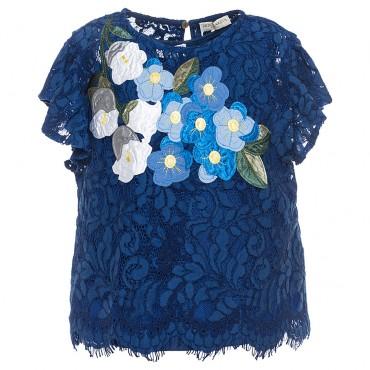 Luksusowe ubrania dla dzieci, bluzka Monnalisa 002666