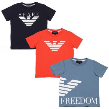 Zestaw koszulek chłopięcych Emporio Armani 002706