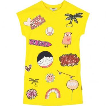 Sukienka dla dziewczynki Little Marc Jacobs 002716