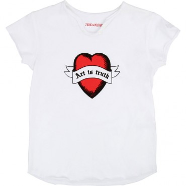 Koszulka dziewczęca Zadig&Voltaire 002724