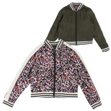 Dwustronna kurtka dziewczęca Zadig&Voltaire 002725