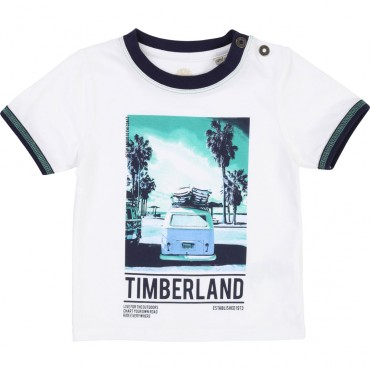 Koszulka niemowlęca z nadrukiem Timberland 002737