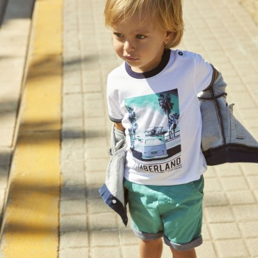 Koszulka chłopięca Timberland 002737 A