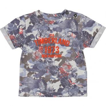 Koszulka niemowlęca z dzianiny Timberland 002738