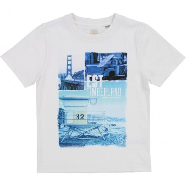 Koszulka chłopięca Timberland 002745