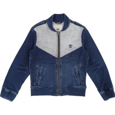 Jeansowa kurtka chłopięca Timberland 002748